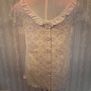 Lily Pulitzer white eyelet top 8